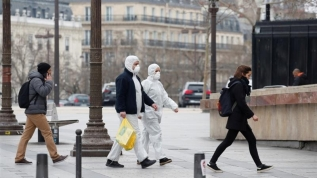 Fransa'da ölü sayısı 8 binin üzerine çıktı