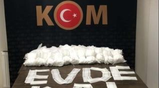 Karabük'te kaçak maske ve dezenfektan operasyonu