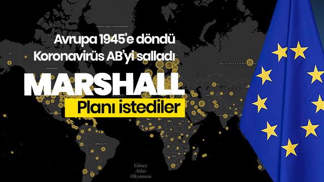 Marshall Planı istediler
