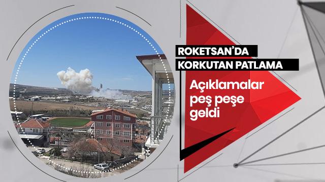Ankara'da Roketsan'da patlama! İlk açıklama geldi...
