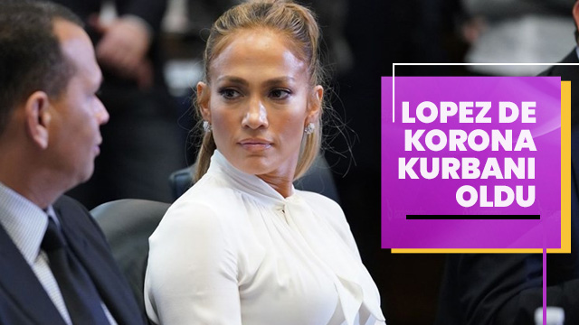 Jennifer Lopez'in düğünü de koronavirüs kurbanı