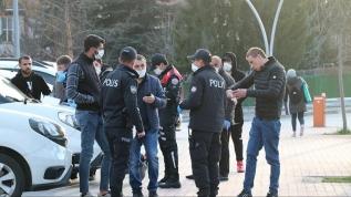 Kovid-19 tedbirlerine uymayan 38 kişiye 35 bin 760 lira ceza kesildi