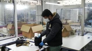 Sahte maske operasyonu! 6 bin 500 maske ele geçirildi