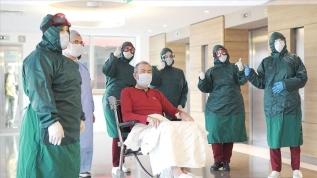 Tedavisi biten hastalar taburcu ediliyor