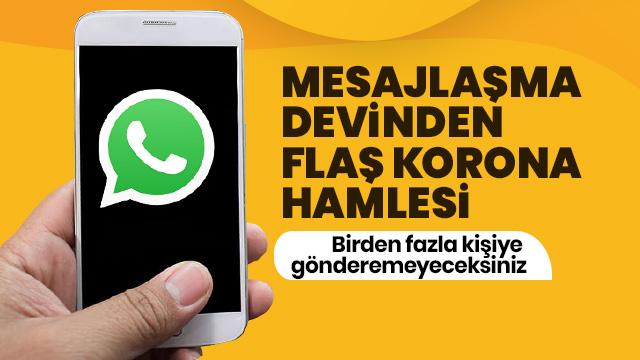 WhatsApp düğmeye bastı! Teknoloji devinden yanlış bilgilendirmeyi önleyecek hamle...