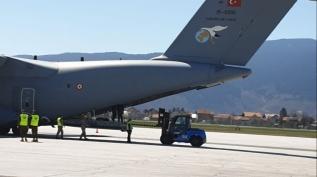 12 saatlik görev başarıyla tamamlandı! Airbus A400M Ankara'ya iniş yaptı