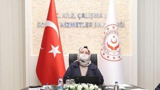 Bakan Selçuk, TÜRMOB ve TOBB Başkanları ile video konferansla 'Kısa Çalışma Ödeneği'ni görüştü