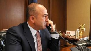 Çavuşoğlu AB'nin Genişlemeden Sorumlu Komiseri Varhelyi ile telefonda görüştü