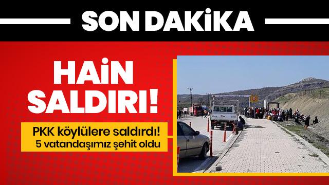 Diyarbakır'da sivillere yönelik hain saldırı: 5 vatandaşımız şehit oldu