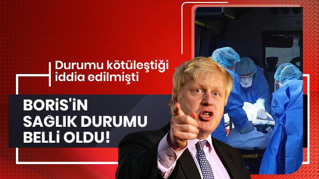 İngiltere Başbakanı Johnson'un sağlık durumu hakkında son dakika açıklama