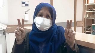Ordu'da 79 yaşındaki teyzemiz koronavirüsü yendi