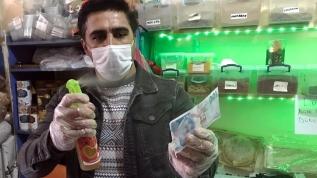 Sirke ve kolonya ile dezenfekte