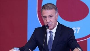 Trabzonspor Başkanı Ağaoğlu: Futbol konuşmak pek mümkün değil