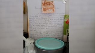 Karantinada süresi dolan tır şoförü öğrenci yurdundaki odasına 50 TL ve bir mektup bıraktı