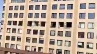 Rusya'nın başkenti Moskova'da büyük patlama