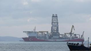 Yerli sondaj gemisi Fatih İstanbul'da