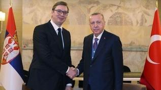 Başkan Erdoğan, Sırbistan Cumhurbaşkanı Aleksandar Vucic ile telefonda görüştü