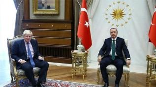 Başkan Erdoğan'dan İngiltere Başbakanı Johnson'a mektup
