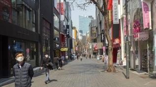 Güney Kore'de koronavirüs vaka sayıları düştü