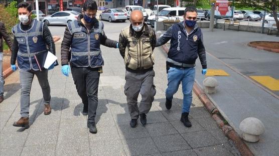 Kafelerden televizyon çalan şüpheli tutuklandı