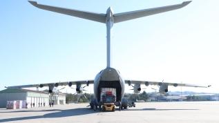 Türkiye'den İngiltere'ye yardım: Askeri uçak hareket etti