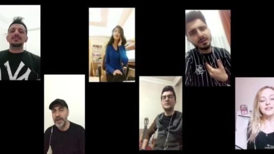 Maddi anlamda zorluk yaşayan müzisyenler hazırladıkları video ile destek istediler