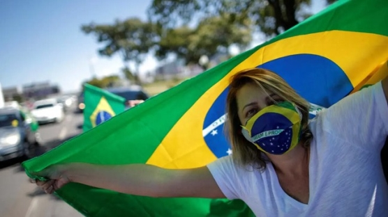Brezilya'da koronavirüs ölümleri 22 bin 666'ya çıktı