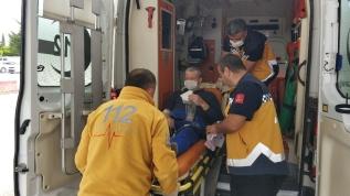 Samsun'da akciğer hastası adam, ambulans helikopterle hastaneye yetiştirildi