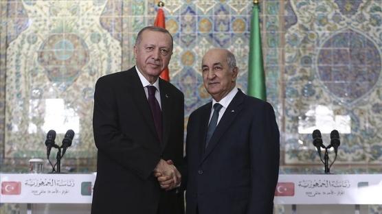 Başkan Erdoğan, Endonezya ve Cezayir Cumhurbaşkanları ile görüştü