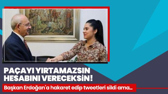 Başkan Erdoğan'a hakaret eden CHP'li Dila Koyurga hesabını sıfırladı (Dila Koyurga kimdir)