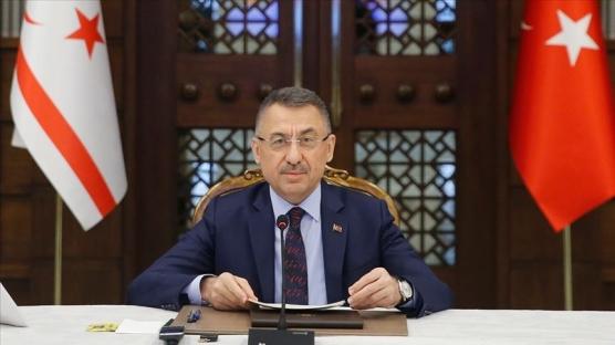 Cumhurbaşkanı Yardımcısı Fuat Oktay imza törenine katıldı: Türkiye KKTC'nin yanında olmaya devam edecektir