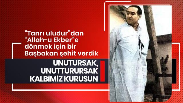İletişim Başkanı Fahrettin Altun: 27 Mayıs'ı unutmadık unutturmayacağız!