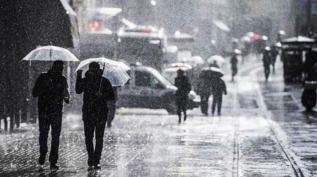 Meteoroloji uyardı! Kuvvetli yağış ve fırtınaya dikkat!