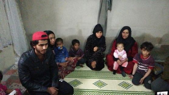Suriyeli 12 kişilik aileyi, önce savaş sonra Elazığ depremi perişan etti