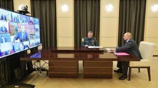 Vladimir Putin: Uzmanların görüşüne göre Rusya'da salgın zirve noktasını geçti