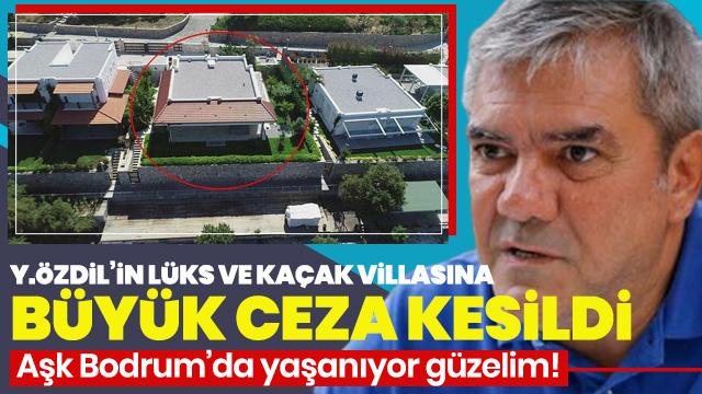 Yılmaz Özdil'in lüks ve kaçak villasına 380 bin lira para cezası kesildi! Yeni gelişmeler var