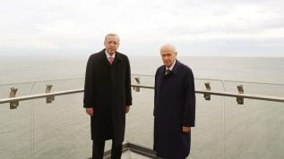 Başkan Erdoğan ile MHP Lideri Bahçeli'den Demokrasi ve Özgürlükler Adası turu