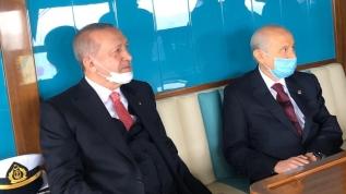 Başkan Erdoğan ve MHP Lideri Bahçeli'den aylar sonra ilk kare