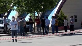 Siirt'te personel Kovid-19'dan öldü! Market karantinaya alındı