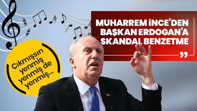 Sürekli CHP'deki diktatörlükten dert yanan Muharrem İnce gündem olmaya çalışıyor... Sözleri büyük tepki çekti