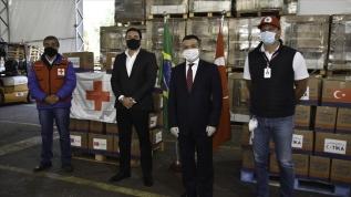 TİKA'dan Brezilya'ya yardım