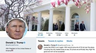 Trump ile Twiter ile tartıştı: Başkan olarak ben buna izin vermem