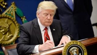 """Açık açık tehdit etmişti! """"Trump imzalayacak"""""""