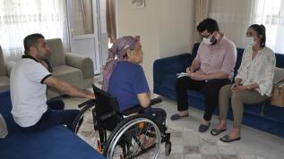 Adana Valiliğinden hasta kadına yardım eli uzatıldı