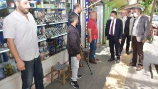 Başkan Gezer esnaf ve vatandaşlarla bir araya geldi