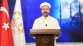 Diyanet İşleri Başkanı Ali Erbaş'tan Cuma namazı açıklaması: Şükür kurbanı kesilecek...