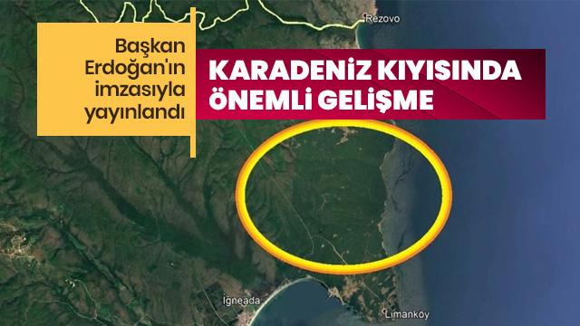 Karadeniz kıyısında önemli gelişme