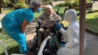 Şili'de 111 yaşındaki Juana Zuniga Kovid-19'u yendi
