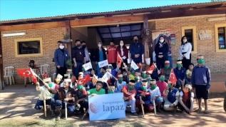 Türkiye'den Paraguay'daki çocuklara yardım