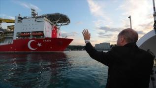 Başkan Erdoğan, 'Fatih' sondaj gemisini uğurladı